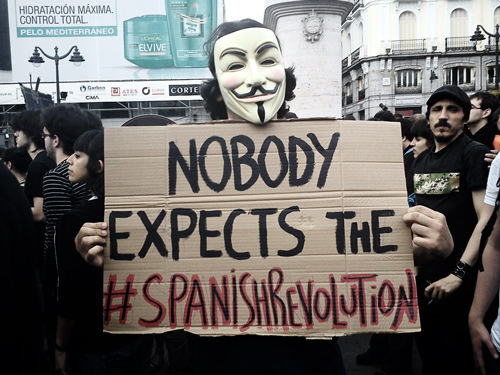 Nobody expects the Spanish Revolution!